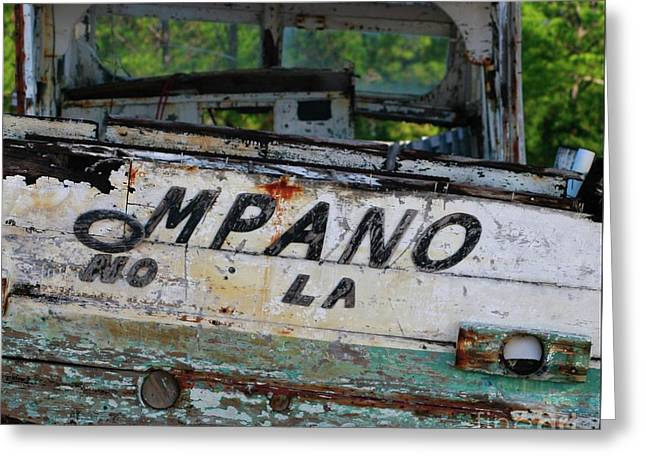 Greeting Card featuring the photograph Nautical Miles by Lori Mellen-Pagliaro