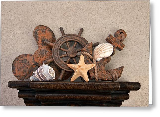 Nautical Still Life IIi Greeting Card