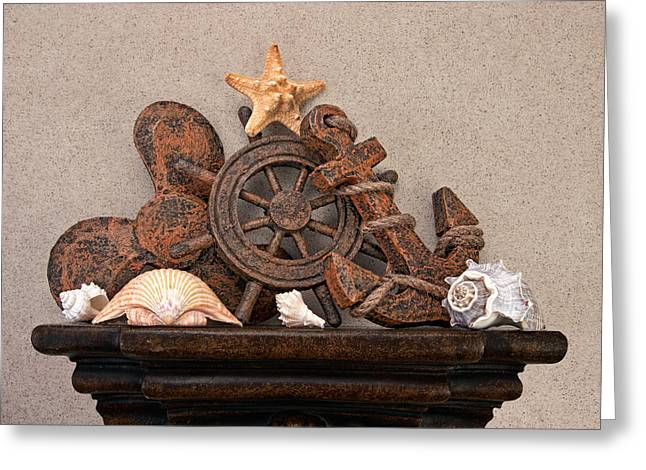 Nautical Still Life Iv Greeting Card