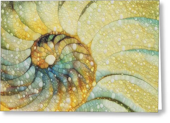 Nautilus Greeting Card by Jack Zulli