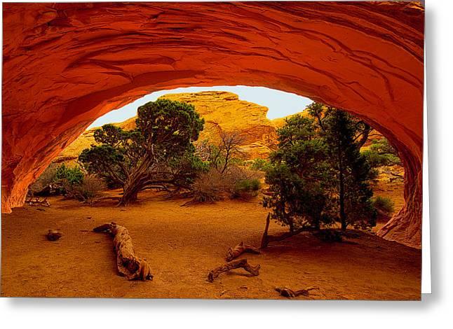 Navajo Arch Greeting Card