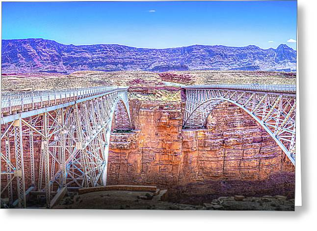 Navajo Bridge Greeting Card