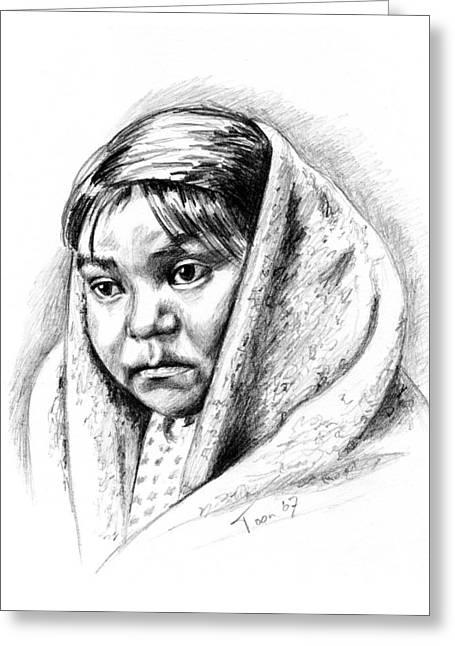 Navajo Child Greeting Card