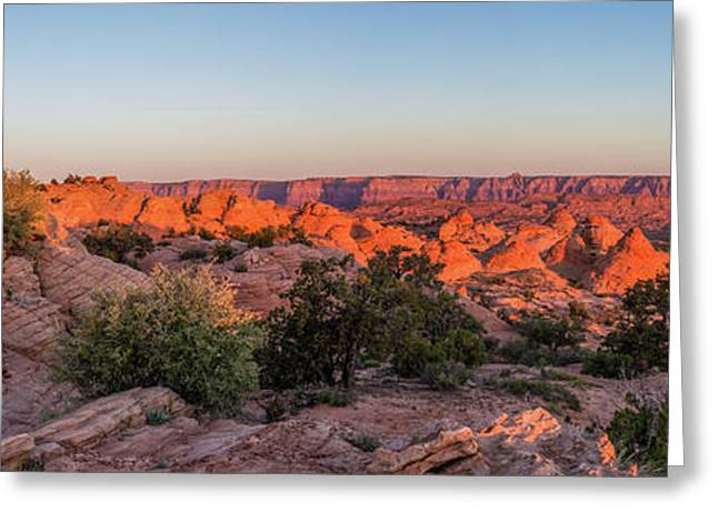 Navajo Land Morning Splendor Greeting Card