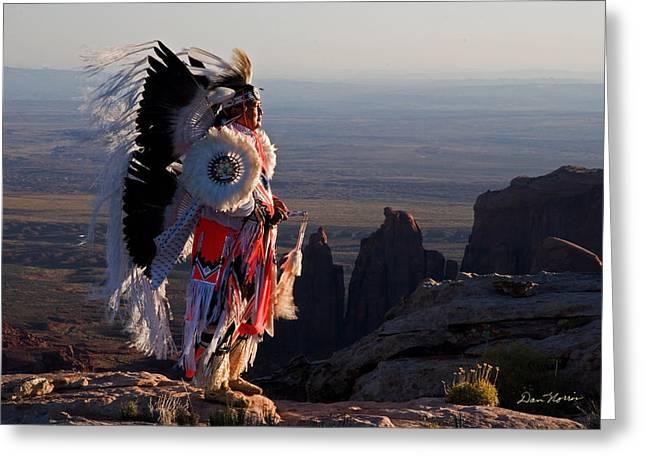 Navajo Sunrise Greeting Card