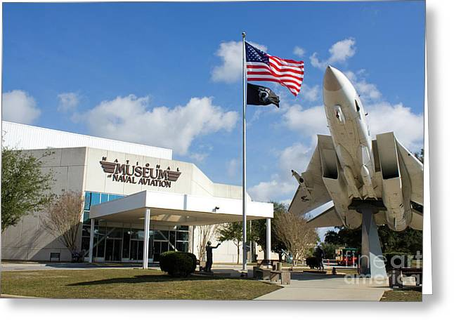 Naval Aviation Museum Greeting Card