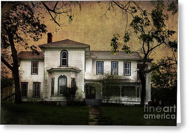 Greeting Card featuring the photograph Navasota 1 by Elena Nosyreva