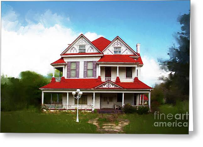 Greeting Card featuring the photograph Navasota 3 by Elena Nosyreva