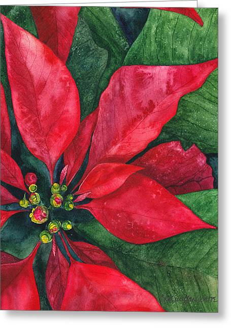 Navidad Greeting Card by Casey Rasmussen White
