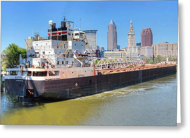 Navigating The Cuyahoga Greeting Card