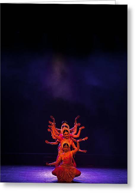 Navratri Durga Greeting Card