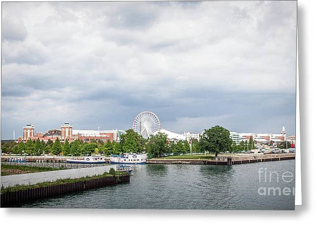 Navy Pier In Chicago Greeting Card