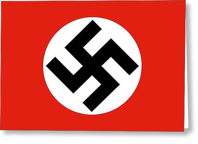 Nazi Flag 1920-1945 Greeting Card