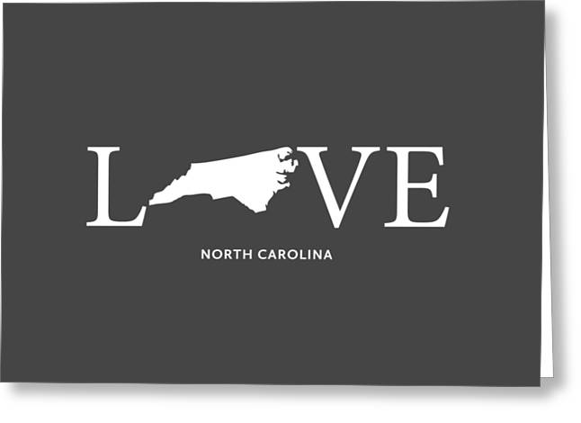 Nc Love Greeting Card by Nancy Ingersoll