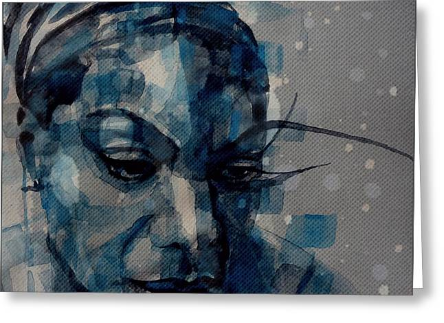 Ne Me Quitte Pas  Greeting Card by Paul Lovering