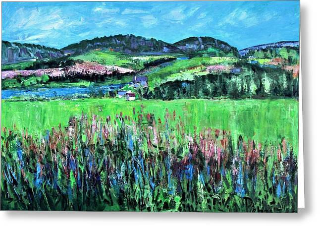 Near Cooperstown Greeting Card