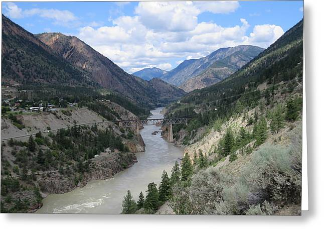 Near Lillooet Bc Greeting Card