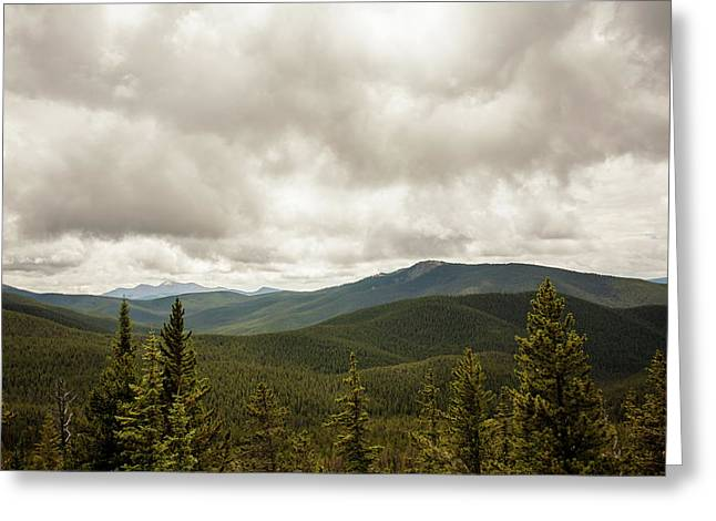 Near Monarch Pass At The Continental Divide Greeting Card