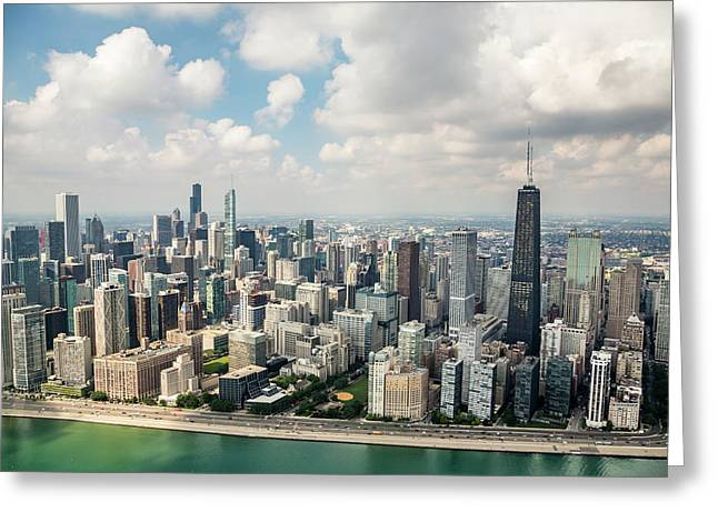 Near North Side And Gold Coast Greeting Card