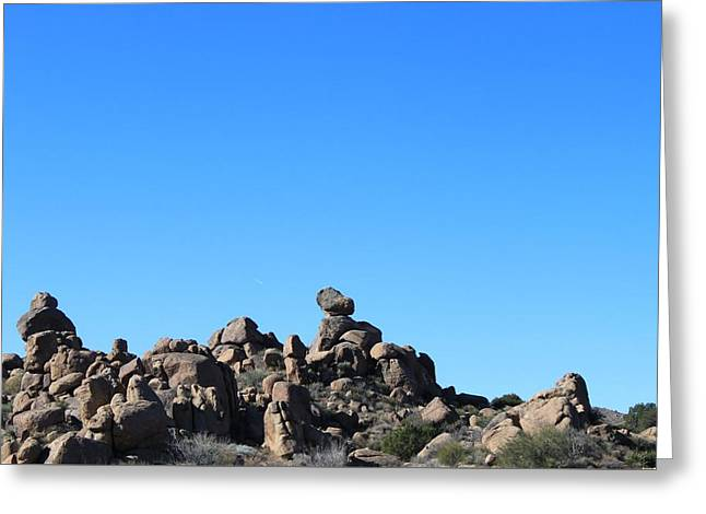 Greeting Card featuring the photograph Near Wickenburg, Az by Antonio Romero