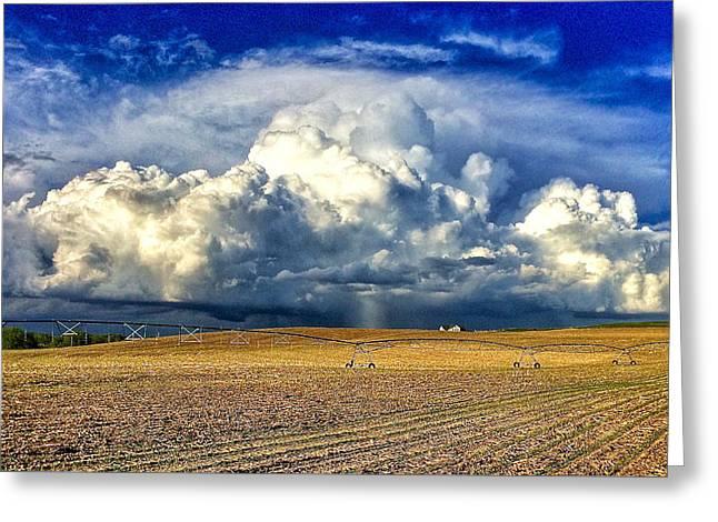 Nebraska Thunderhead Greeting Card