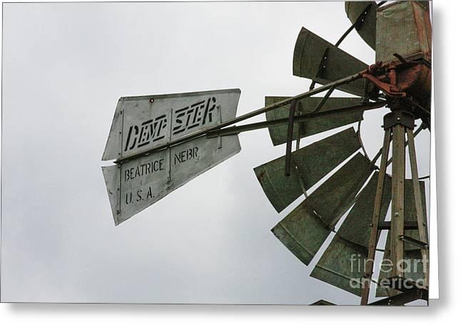 Nebraska Wind Greeting Card