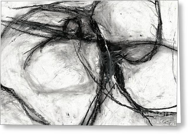 Nebulas By Laura Gomez - Horizontal Format Greeting Card by Laura  Gomez
