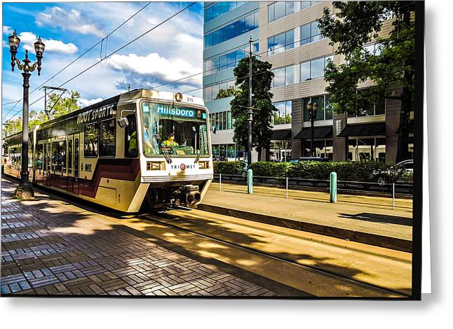Need A Ride Greeting Card by Tony Porter Photography