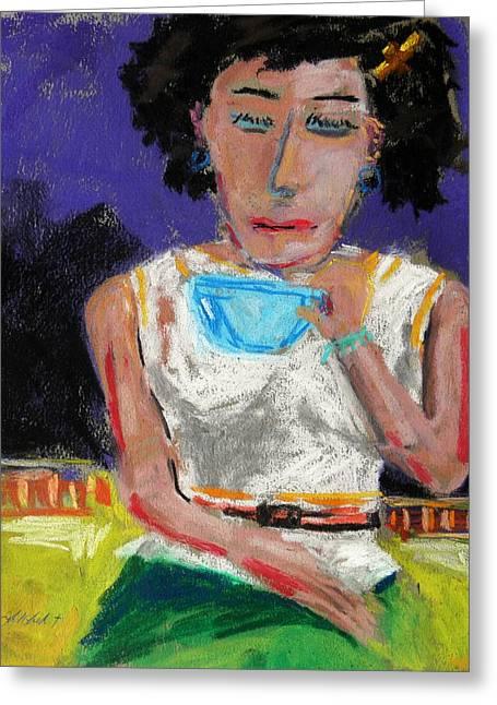 Need Coffee Greeting Card by John Williams