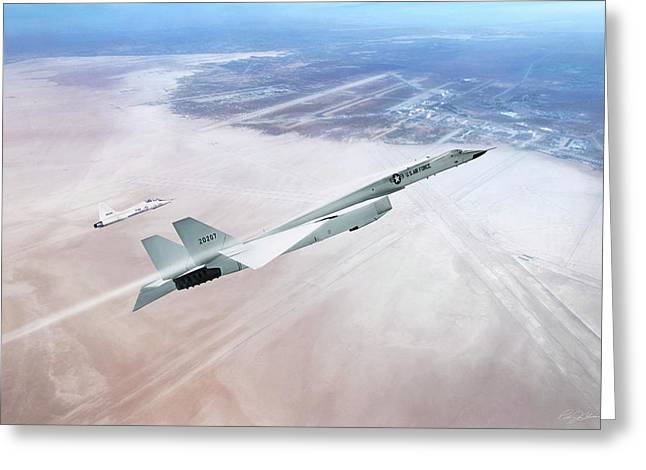 Need For Speed - Xb-70 Greeting Card
