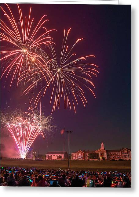 Needham Celebrates The 4th Of July Greeting Card