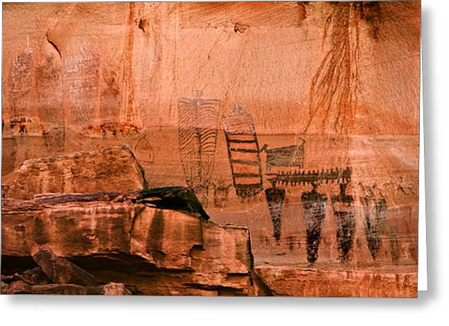 Needles Pictographs Greeting Card