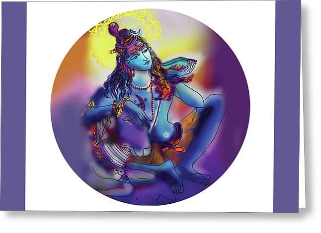 Neelakanth Shiva  Greeting Card