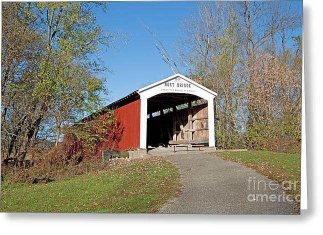 Neet Covered Bridge, Indiana Greeting Card