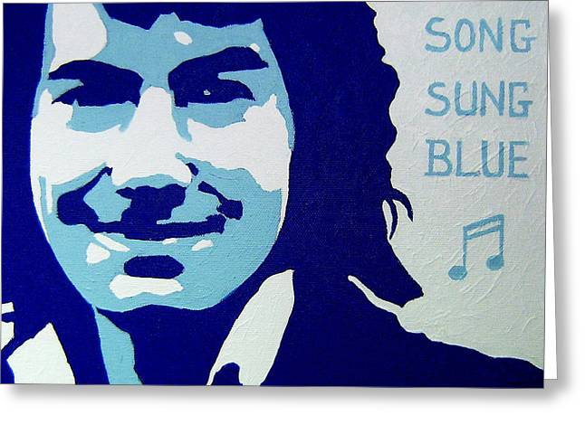 Neil Diamond Greeting Card by John  Nolan