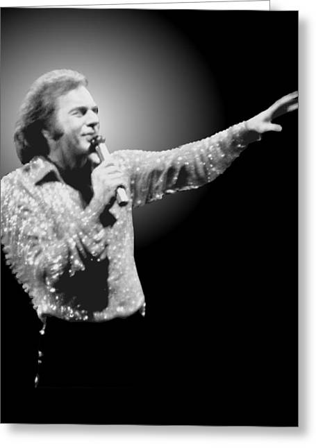 Neil Diamond Reaching Out Greeting Card