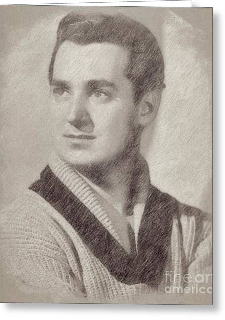 Neil Sedaka Vintage Singer Greeting Card