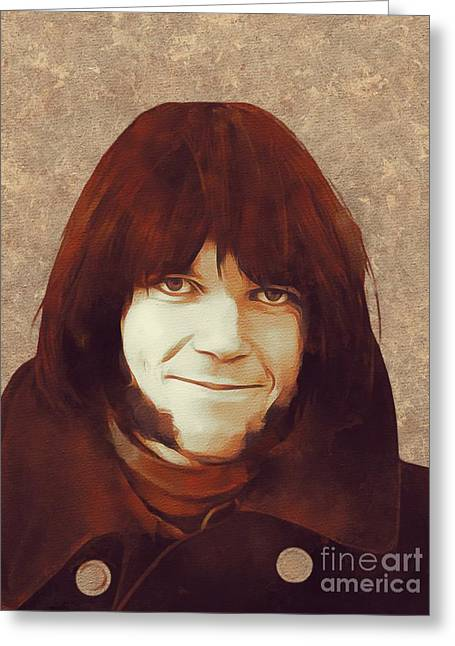 Neil Young, Music Legend Greeting Card