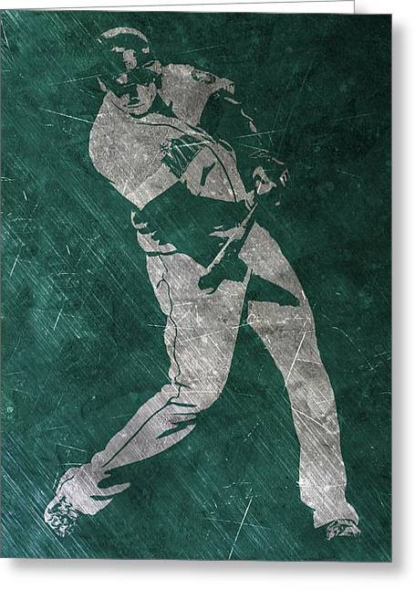 Nelson Cruz Seattle Mariners Art Greeting Card by Joe Hamilton