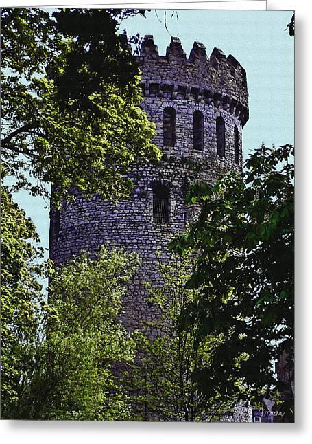 Nenagh Castle Ireland Greeting Card by Teresa Mucha