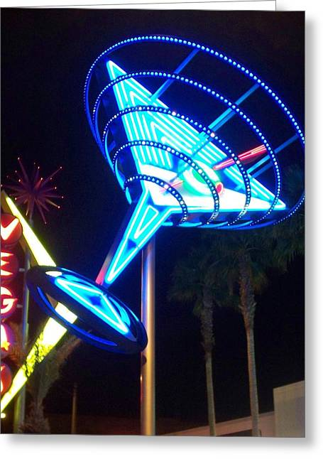 Neon Signs 1 Greeting Card