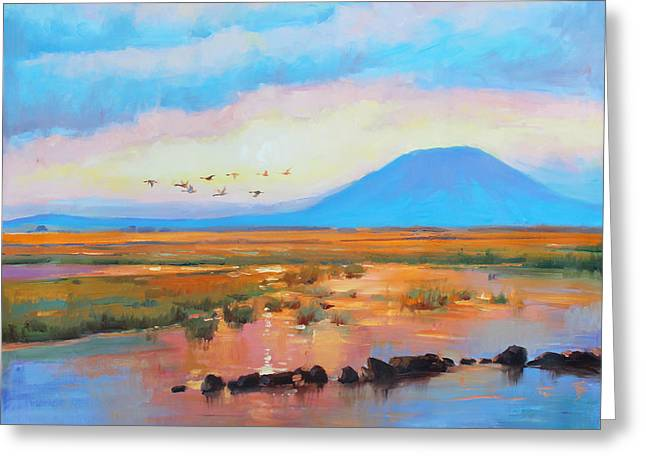 Nephin Dawn 2 Greeting Card