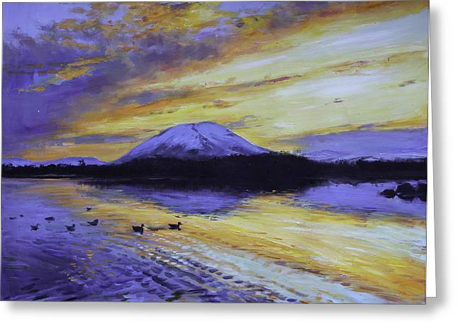Nephin Reflections Greeting Card