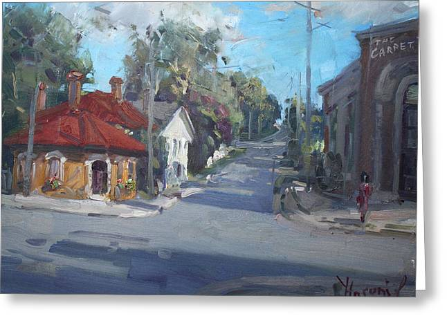 Norval Ontario Greeting Card by Ylli Haruni