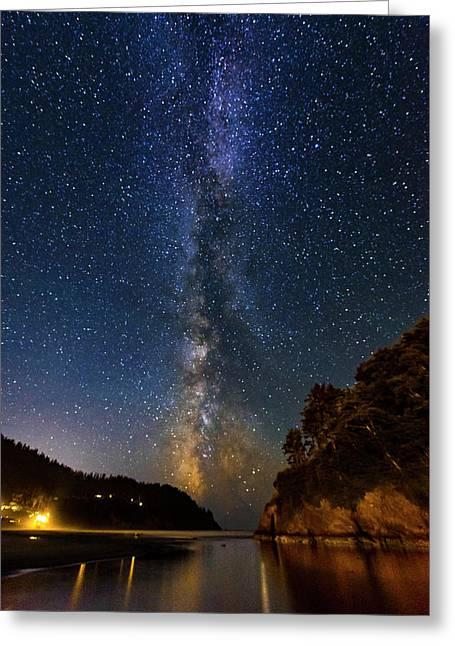 Neskowin Milky Way Greeting Card