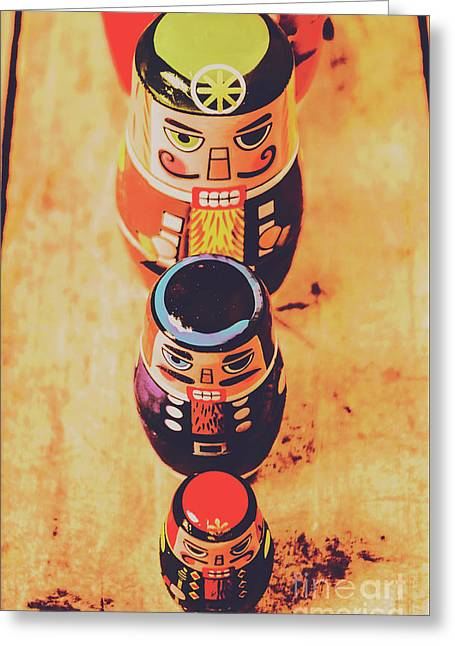 Nesting Dolls Greeting Card by Jorgo Photography - Wall Art Gallery