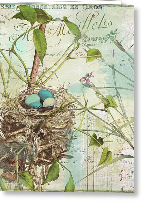 Nesting II Greeting Card