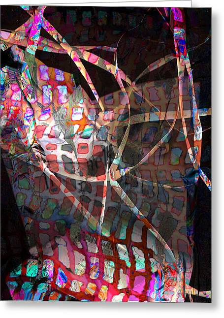Net Greeting Card by Dave Kwinter