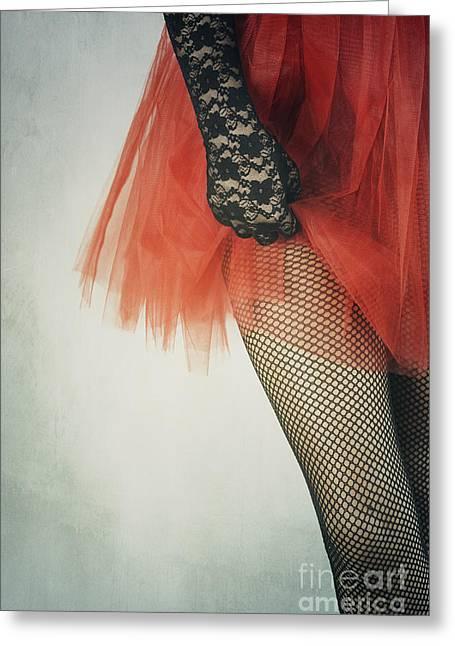 Net Stockings Greeting Card by Jelena Jovanovic