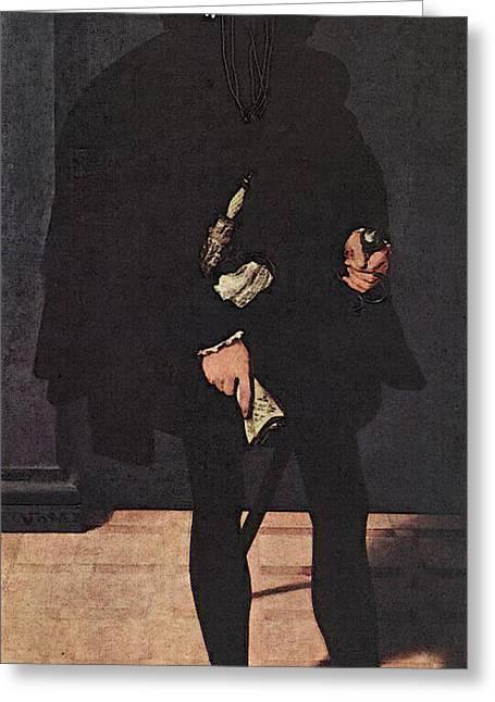 Neufchatel Nicolas Portrait Of Hendrik Pilgram Greeting Card